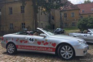 BrautmodeOutlet Bautzen Outlet Brautmode Mopo Rallye 2017 Cabrio