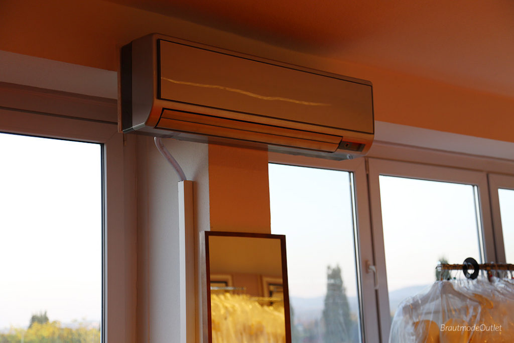 BrautmodeOutlet Bautzen Outlet Brautmode Klimaanlage
