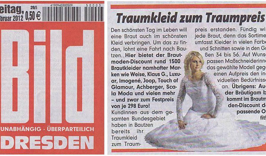 BrautmodeOutlet Bautzen Outlet Brautmode Print Bild Dresden