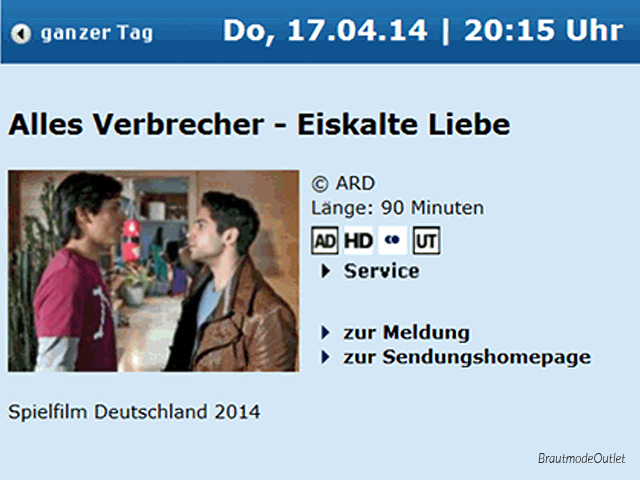 BrautmodeOutlet Bautzen Outlet Brautmode TV-Produktion ARD 2014
