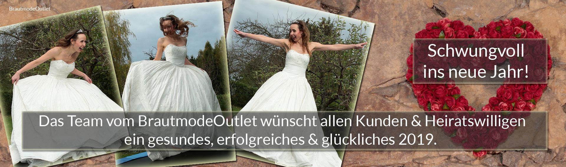 Bruatmode Outlet Bautzen Brautmode neues Jahr Wünsche
