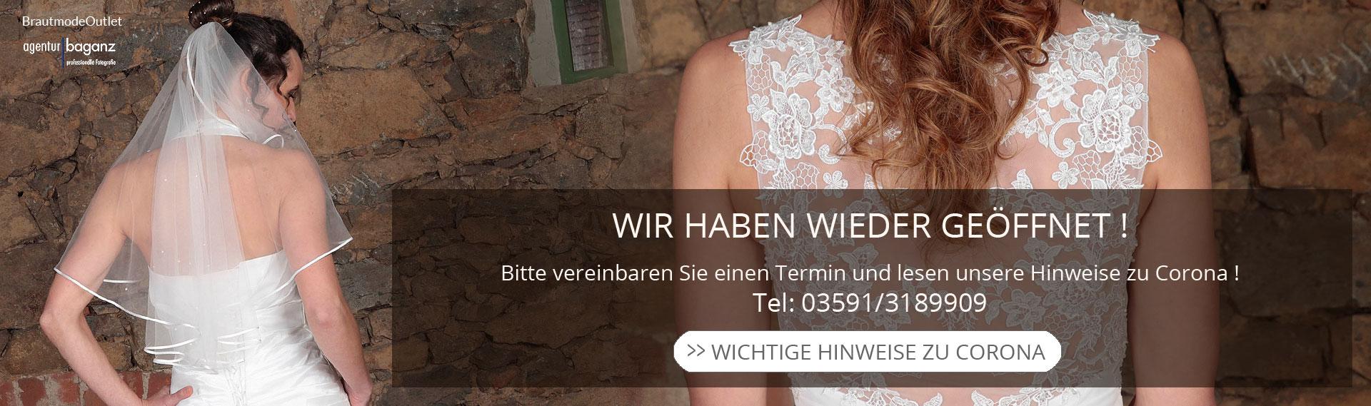 Brautmode Outlet Bautzen Geschäft geöffnet