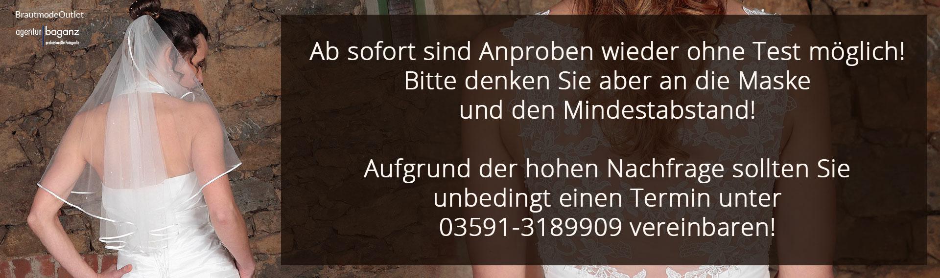 Brautmode Outlet Bautzen Anprobe Termin